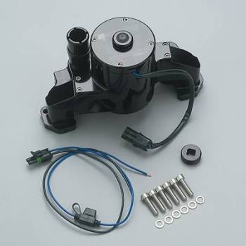 Meziere Enterprises - Meziere LS-1 Electric Water Pump - Black