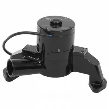 Meziere Enterprises - Meziere SB Chevy Billet Electric Water Pump - Hi-Flow - Black