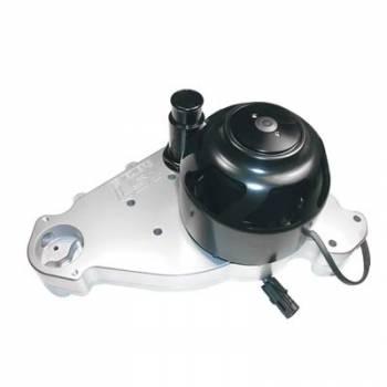 Meziere Enterprises - Meziere SB Chevy LS1 Billet Electric Water Pump - Polished