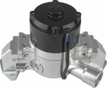 CVR Performance Products - CVR Performance SB Ford Billet Aluminum Electric Water Pump Clear