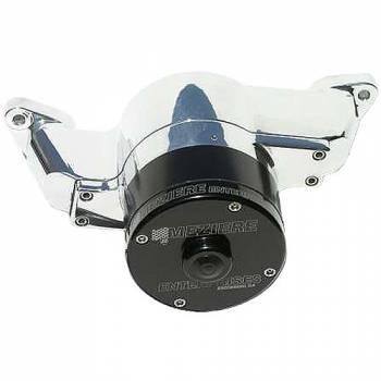 Meziere Enterprises - Meziere SB Ford Billet Electric Water Pump - Polished