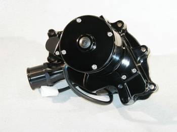 Meziere Enterprises - Meziere SB Ford Billet Electric Water Pump - Hi-Flow - Black