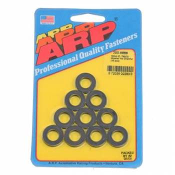 ARP - ARP Black Washers - 10mm ID x 3/4 OD (10)