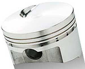 Sportsman Racing Products - SRP BB Chevy Flat Top Piston Set 4.500 Bore -3cc