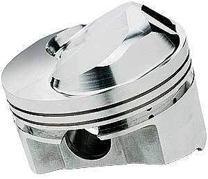Sportsman Racing Products - SRP BB Chevy Domed Piston Set 4.320 Bore +43cc