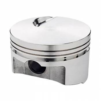 Sportsman Racing Products - SRP BB Chevy Flat Top Piston Set 4.530 Bore -3cc