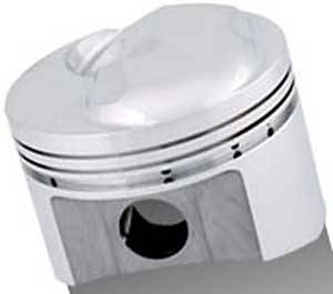 Sportsman Racing Products - SRP BB Chevy Domed Piston Set 4.310 Bore +23cc