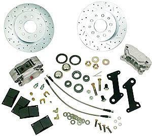 SSBC Performance Brakes - SSBC Chevy Rear Disc Brake Conversion Kit GM 10 & 12 Bolt Rears