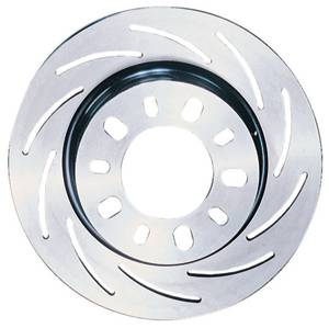 "Strange Engineering - Strange Engineering RH HD Tapered Slotted 11.250"" Brake Rotor"