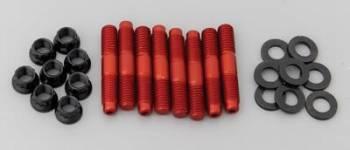 ARP - ARP Aluminum Blower Stud Kit - 7/16 x 2.500 OAL