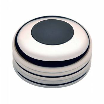 GT Performance - GT Performance GT3 Low Profile Plain Black Horn Button with Spacer