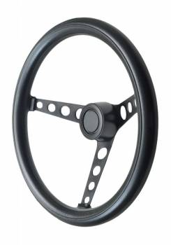 GT Performance - GT Performance GT Classic Foam Steering Wheel-Black