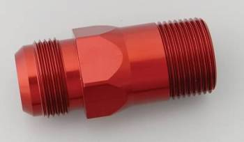 Meziere Enterprises - Meziere #16 AN Water Pump Fitting - Red