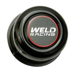 "Weld Racing - Weld Black Center Cap 5 Lug Application - 2.20"""