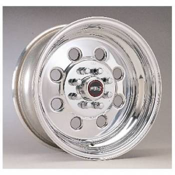 "Weld Racing - Weld Draglite Polished Wheel - 15"" x 3.5"" - 4 X 4.25-4.5"" Bolt Circle - 1.375"" Back Spacing - 10.5 lbs"