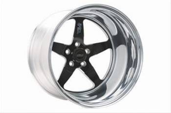 "Weld Racing - Weld R-TS Forged Aluminum Black Anodized Wheel - 15"" x 4"" - 5 x 4.5"" Bolt Circle - 2.5"" Back Spacing - 10.4 lbs"