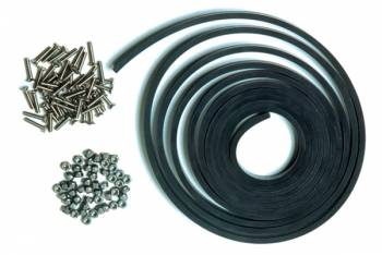 "Chassis Engineering - Chassis Engineering Window Installation Kit w/ 1/4"" Thick Rubber"