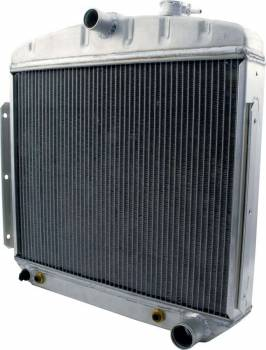 Allstar Performance - Allstar Performance Radiator 1955-56 Chevy 6 Cylinder w/ Transmission Cooler