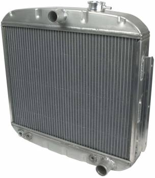 Allstar Performance - Allstar Performance Radiator 1955-57 Chevy 8 Cylinder w/ Transmission Cooler