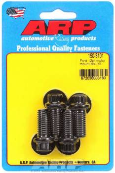 ARP - ARP SB Ford Windsor Motor Mount Bolt Kit - 12 Point