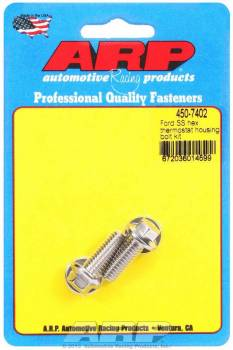 ARP - ARP Stainless Steel Thermostat Housing Bolt Kit - 12 Point