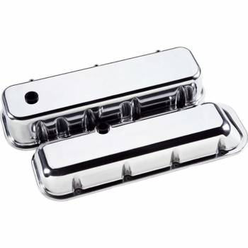 Billet Specialties - Billet Specialties BB Chevy Valve Covers - Tall - Polished - BB Chevy - (Set of 2)