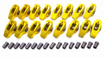 "Crane Cams - Crane Cams BB Chevy Gold Race 1.7 Roller Rocker Arms- 7/16"" Stud"