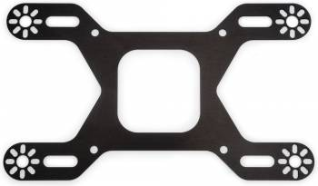Edelbrock - Edelbrock Nitrous Bolt-On 4-Solenoid Bracket - For Square-Flange Carburetors