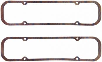 "Fel-Pro Performance Gaskets - Fel-Pro 326-455 Pontiac Valve Cover Gasket 1/4"" Thick Cork/Rubber"