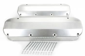 Milodon - Milodon BB Ford Aluminum Valve Covers w/Holes
