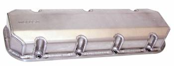 "Moroso Performance Products - Moroso BB Chevy Billet Rail Valve Covers w/ 3/8"" Inserts"