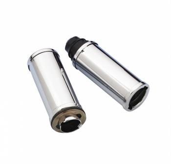 Mr. Gasket - Mr. Gasket Chrome Plated Oil Filler Extension Tube - 4 in.