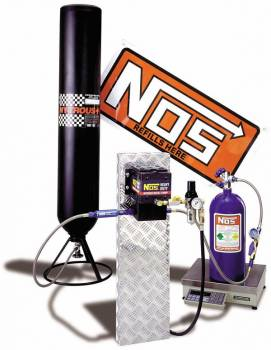 Nitrous Oxide Systems (NOS) - NOS Nitrous Refill Station Transfer Pump Kit - Cryogenic Refill Pump Station