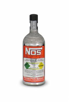 Nitrous Oxide Systems (NOS) - NOS Nitrous Bottle - Aluminum Finish