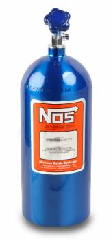 Nitrous Oxide Systems (NOS) - NOS Nitrous Bottle - Electric Blue Finish