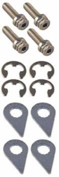 Stage 8 Locking Fasteners - Stage 8 Turbo Locking Bolt Kit - 8mm x 1.25 x 25mm (4)