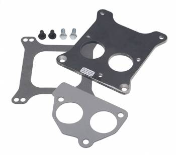 Trans-Dapt Performance - Trans-Dapt Carburetor To TBI Adapter - Holley 4 bbl. To SB ChevyTBI Front Mount