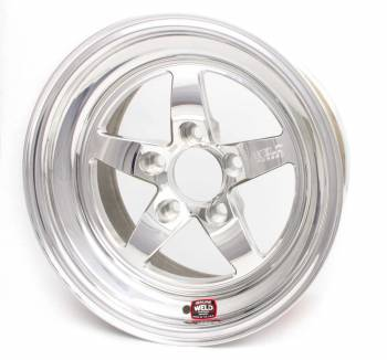 "Weld Racing - Weld R-TS Forged Aluminum Polished Wheel - 15"" x 6.83"" - 5 x 4.75"" Bolt Circle - 4.5"" Back Spacing - 12.7 lbs"