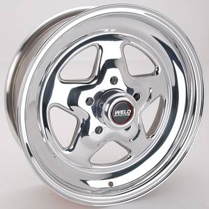 "Weld Racing - Weld Pro Star Polished Wheel - 15"" x 5"" - 5 x 4.5"" Bolt Circle - 3.5"" Back Spacing - 11.85 lbs"