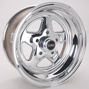 "Weld Racing - Weld Pro Star Polished Wheel - 15"" x 7"" - 5 X 4.75"" Bolt Circle - 3.5"" Back Spacing - 12.85 lbs"