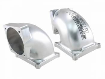 Wilson Manifolds - Wilson Manifolds Billet Elbow 90-105mm - 4500 Flange