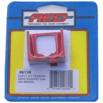 AED Performance - AED GM Kickdown Cable Bracket for #6600 - Red