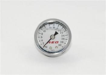 AED Performance - AED 1-1/2 Fuel Pressure Gauge 0-30 psi Liquid Filled
