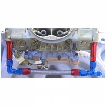 AED Performance - AED Braided Fuel Line Kit - #6 Holley Carburetor