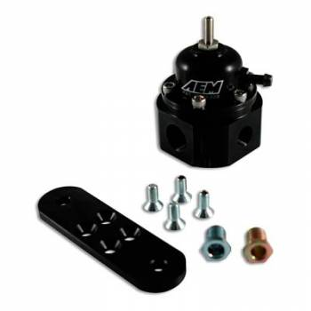 AEM Electronics - AEM Universal Adjstable Fuel Pressure Regulator Black