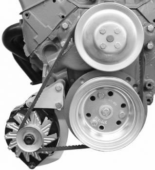Alan Grove Components - Alan Grove Components Alternator Bracket - SB Chevy - Short Water Pump - Low Mount - RH