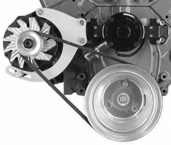 Alan Grove Components - Alan Grove Components Alternator Bracket - SB Chevy - Electric Water Pump - RH - Low Mount