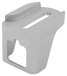 Allstar Performance - Allstar Performance Transmission Kickdown Bracket GM Silver