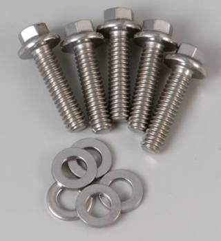 ARP - ARP Stainless Steel Bolt Kit - 6 Point (5) 1/4-20 x 1.000