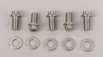 ARP - ARP Stainless Steel Bolt Kit - 12 Point (5) 3/8-16 x .750